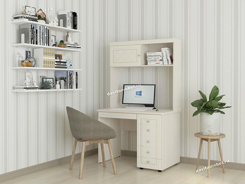 купить компьютерный стол с надстройкой недорого в спб большой выбор