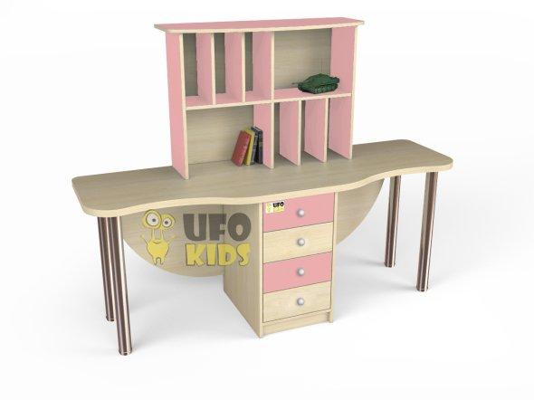 """Купить Стол для двоих детей """"ЭЛЬФИ"""" C002. Недорогие ..."""